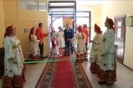 14 апреля в здании отдела культуры работники Центрального дома культуры совместно с отделом ЗАГС Каширского района провели обряд бракосочетания молодоженов