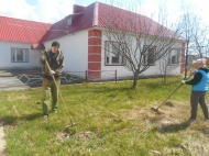 Администрация сельского поселения Крутовский сельсовет приняло активное участие во Всероссийском субботнике  28  апреля 2018 года