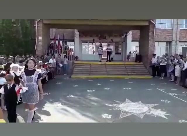 02.09.19 Торжественная линейка посвященная Дню знаний в с.Воронцовка