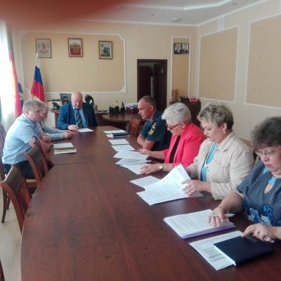 Заседание Антитеррористической комиссии  Каширского муниципального района
