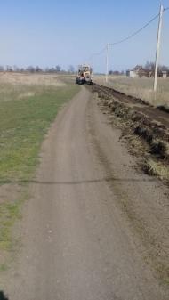 Грейдирование дорог в с. Воронцовка