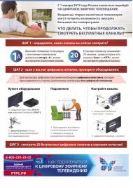 С 1 января 2019 года Россия полностью перейдет на цифровое эфирное телевещание.