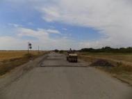 Проведен ремонт дороги по ул. Центральной хутора Ангелинского