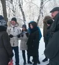 """Встреча с жителями в парке по """"Городской среде"""""""