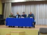 11 апреля 2019 года в 15.00 ч. в селе Вознесеновка в сельском доме культуры состоялось собрание по вопросу: «Доведение обстановки по пожарной безопасности»