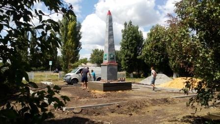 В с.Лещаное ТОС отремонтируют памятник