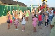Открытие детской игровой площадки «Островок детства»