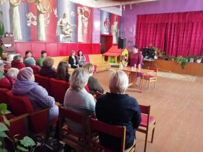 Встреча главы АМО Новольвовское Винокуровой Г.В.  с жителями д. Зубовка