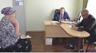 В Тамбовке и Николаевке прошел выездной прием граждан
