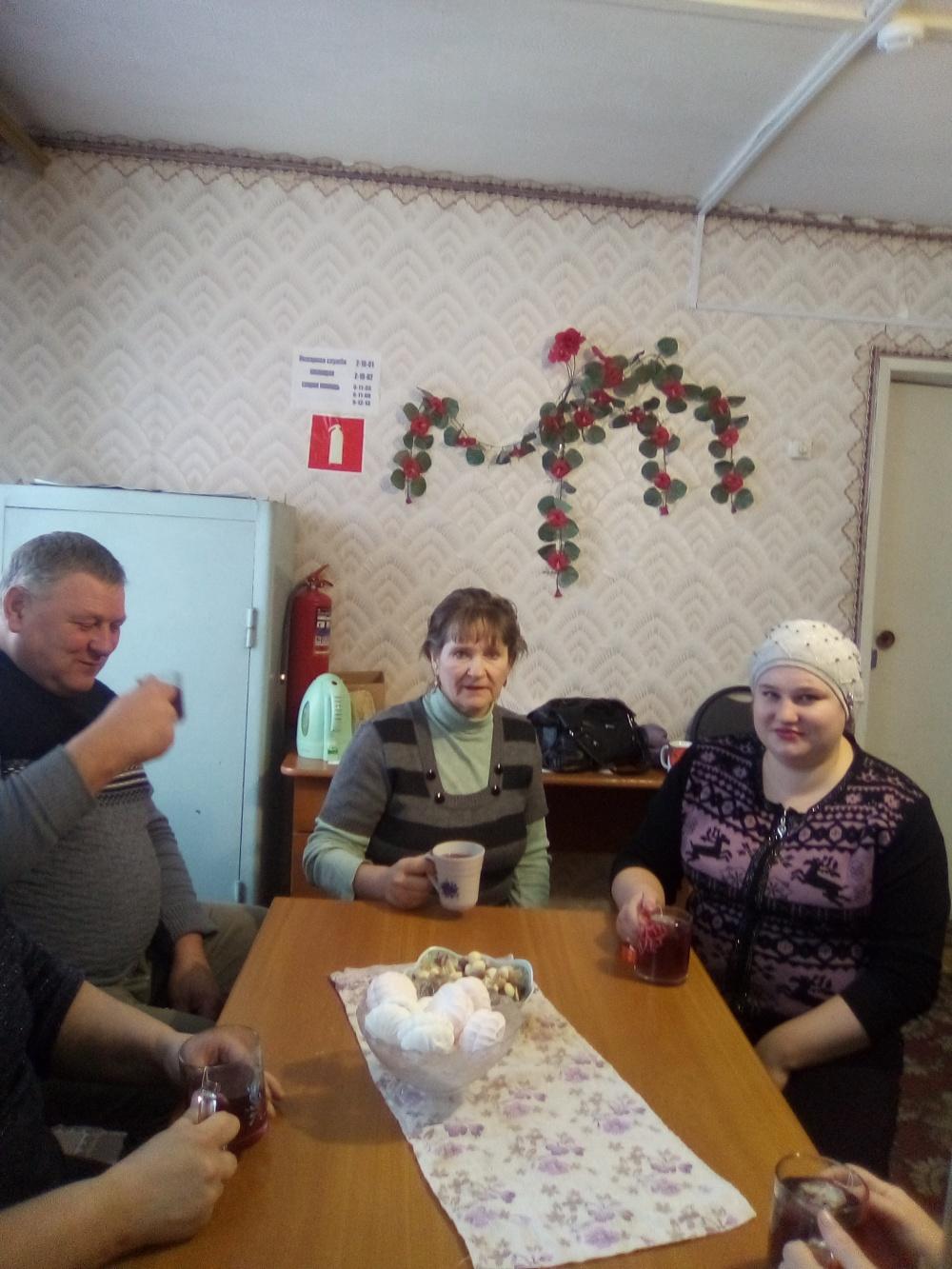 Мероприятие в Вязовском сельском клубе