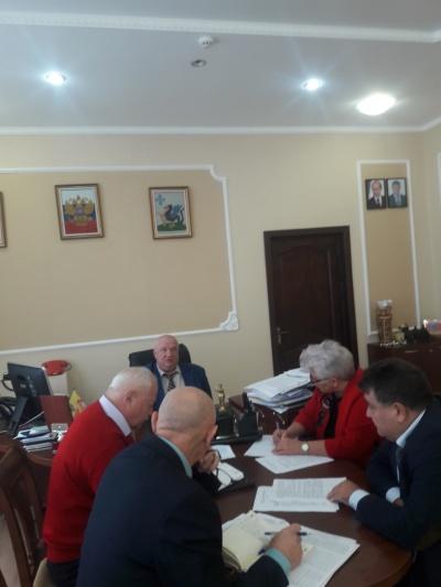 05.10.2018 г. состоялось заседание санитарно-противоэпидемиологической комиссии