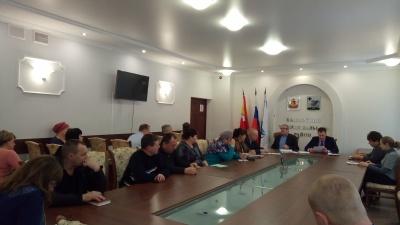 Заседание координационного совета по охране труда
