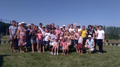 В  селе Старина и в поселке Степной прошли спортивные состязания среди детей, подростков и молодежи