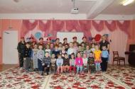 """Юнармейцы отряда """"РУБИН"""" посетили детский сад """"РОМАШКА"""""""
