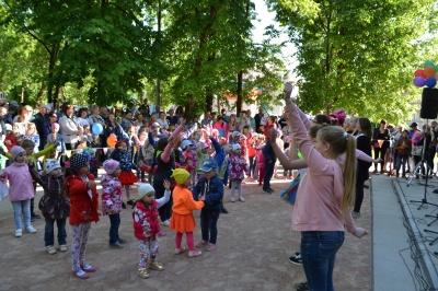 1 июня в Товарково прошел праздник посвященный Международному дню защиты детей!