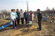 Жители Березовского сельского поселения почтили память Ересько Анатолия Павловича