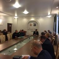 Заседание КЧС и ПБ Каширского муниципального района