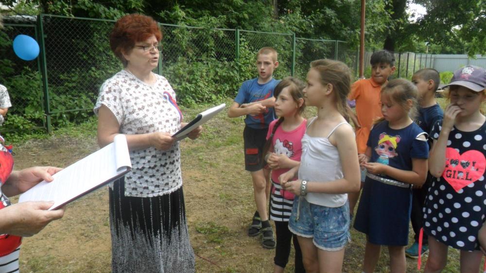 Урок патриотизма  в Новольвовске