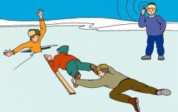 Оказание помощи на льду
