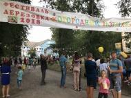 11 августа 2018 года в Дерезовском сельском поселении прошел фестиваль  «Огородный разгуляй»