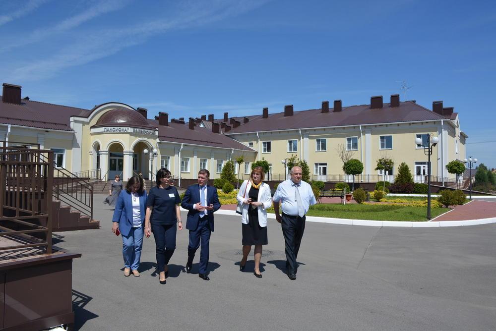 Каширский пансионат посетил министр труда и социальной защиты РФ