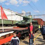 Информационное сообщение «Поезд Победы»