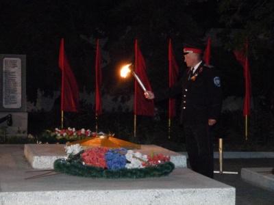 8 мая 2019 года в 20 часов на мемориале ст. Камышеватской состоится традиционная акция «Огонь нашей памяти»