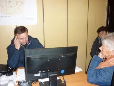 02/10/2018 встреча с жителями д. Исаковские Выселки по личным вопросам