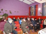 Встреча главы администрации МО Новольвовское  Винокуровой Г.В. с жителями д. Зубовка