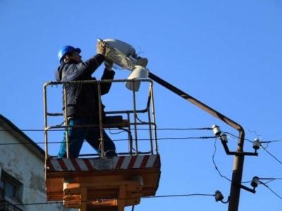 Об обслуживании уличного освещения