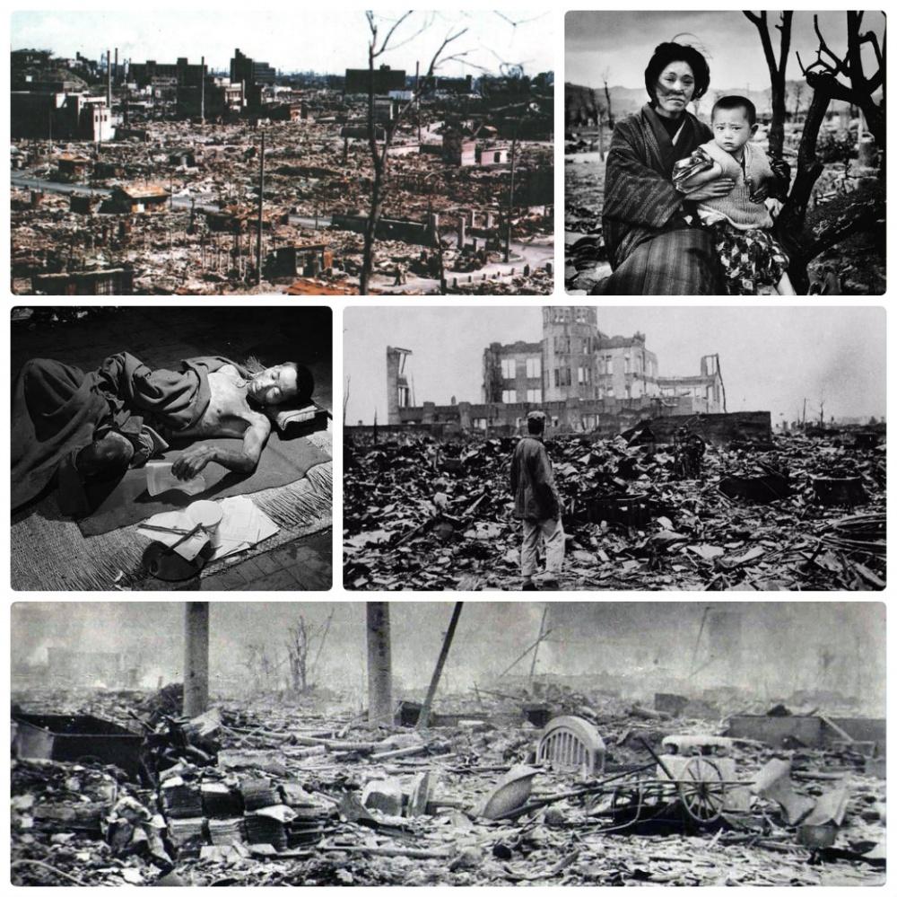"""""""  Хиросима и Нагасаки """""""
