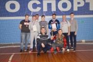 1 место Песковское сельское поселение в чемпионате района по волейболу среди мужчин.