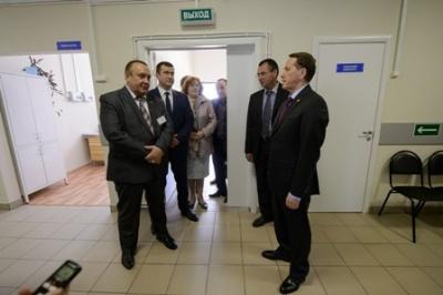 А.Гордеев: «Социальную инфраструктуру Терновского района будем развивать и дальше»