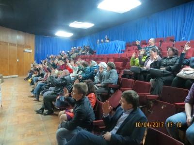 10 апреля 2017 г. состоялось собрание по вопросу участия поселка Товарково в областном конкурсе «Программа поддержки местных инициатив»