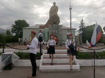 Торжественный митинг, посвященный 74-годовщине Победы в Великой Отечественной войне 1941-1945 годов