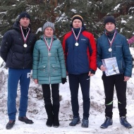 2 место в Спартакиаде по лыжам