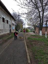 13.04.19г.  на территории Кухаривского с/п прошел всекубанский субботник.