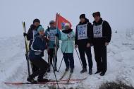 Районные соревнования по лыжам.