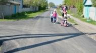 В Нижнедевицком поселке Курбатово завершили строительство дороги