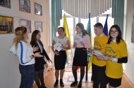 12.02.19г. в с.Кухаривка прошла акция, посвященная празднованию Дня молодого избирателя.