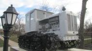 В Воробьевском сельском поселении  появился памятник – трактор