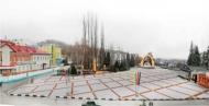 В Воробьевке начали реконструкцию площади Свободы