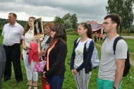 23 июля в Глухово с Нижегородской области приехали внучки и правнуки  Тюсова Ивана Николаевича