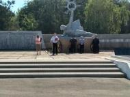 Сегодня в  Городовиковске, как и везде в России, День памяти и скорби.