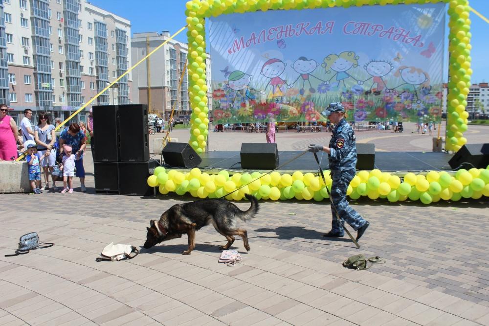 Сотрудники полиции О МВД России по Волжскому району приняли участие в праздновании Международного Дня защиты детей в Южном городе.