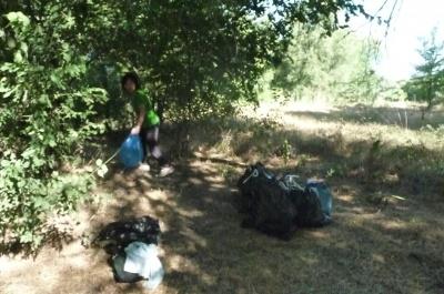 Акцию «Чистые  пруды»