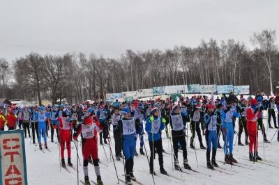 Каширцы приняли участие  во Всероссийской лыжной гонке «Лыжня России – 2019»