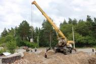 В Песковском сельском поселении началось строительство нового ФАПа.