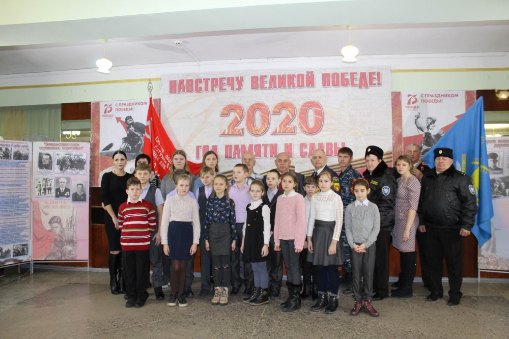 6 февраля 2020 года в Доме культуры станицы Камышеватской состоялся митинг, посвященный 77-ой годовщине освобождения Ейского района и станицы Камышеватской от немецко-фашистских захватчиков.