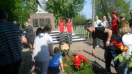 Бессмертный Полк и торжественный митинг посвященный Дню Победы в селе Хитровщина Кимовского района